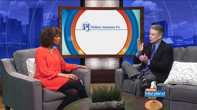 Dr. Scott Woodburn Discusses Common Foot Problems with ABC2 News